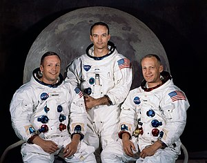 A Armstrong Collins & Aldrin